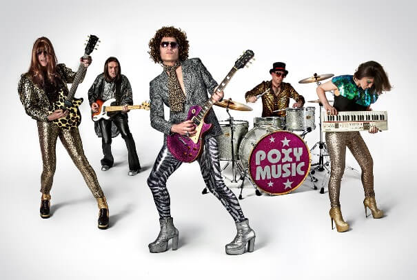Poxy Music '70s tribute band
