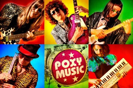 Poxy Music 70s tribute band