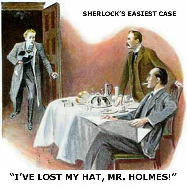 Sherlock's easiest case